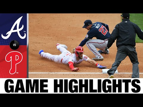 Phillies vs. Braves Game Highlights (4/1/21) | MLB Highlights