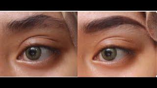 Eyebrow Tutorial Without Trimming! Tutorial Alis Tanpa Cukur