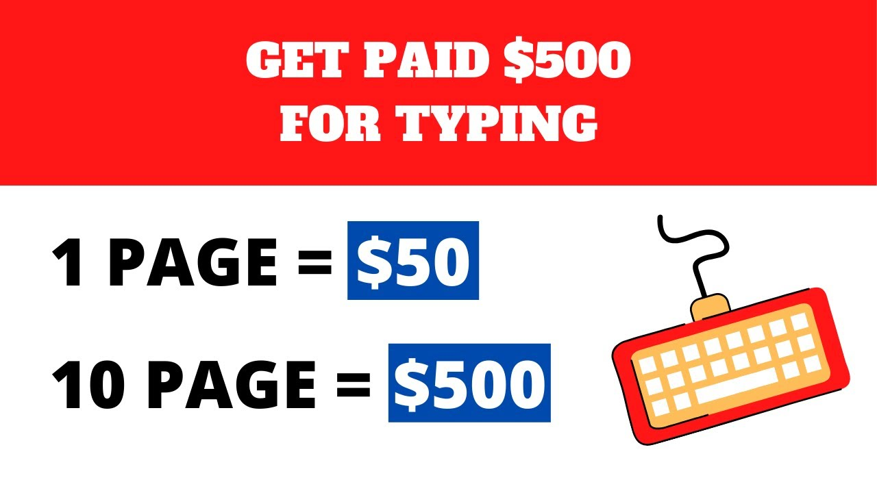 Make $500 ($ 50 Per Page) by simply Typing Names (Generate Income Online) thumbnail