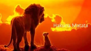 Hakuna Matata Lion King Lyrics Video - Billy Eichner & Seth Rogen