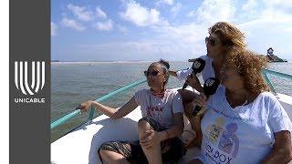 Denisse de Kalafe comparte su paraíso con Montse y Joe | Unicable