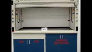 8′ Fisher Hamilton Safeaire Laboratory Fume Hood (H281)