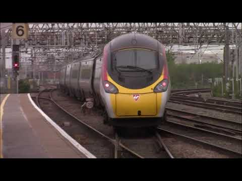 S1E41 Trains at crewe incl the sunday shed railtour
