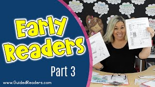 Guided Reading | How To Teach Guided Reading To Early Readers Part 3