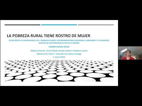 Situación das mulleres rurais no Triángulo Norte de Centroamérica (Guatemala, Honduras, El Salvador) despois dos procesos de paz. A pobreza rural ten rostro de muller