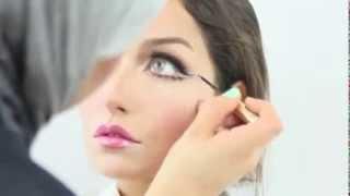 Смотреть онлайн Впечатляющий кукольный макияж