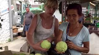 💚Рынок в Гаграх (часть 2)Абхазия Август 2018год💚