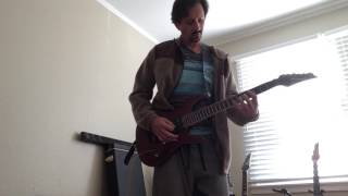 "Jared's cover of Joe Satriani's ""Lords of Karma."""