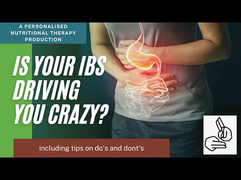 Is your IBS Driving You Crazy? (BSL)