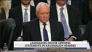 Sen. Orrin Hatch Snaps at 'Loudmouth' Protester During Kavanaugh Hearing
