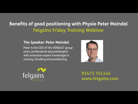 Benefits of good positioning with Physio Peter Maindal | Felgains Friday Training Webinar