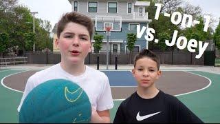 1-on-1 Basketball Game vs. Joey *INSANE ENDING*