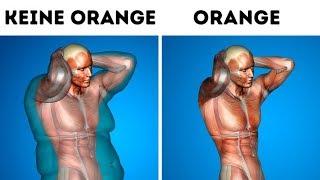 Iss eine Orange pro Tag und sieh, was mit deinem Körper passiert