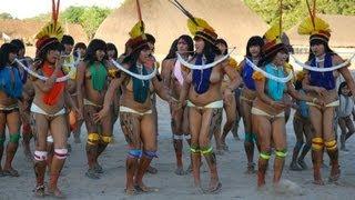 Прикольные татуировки у племенных людей - видео онлайн