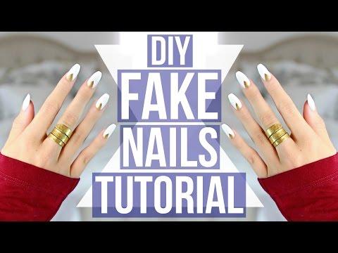 DIY: EASY Fake Nails Tutorial!