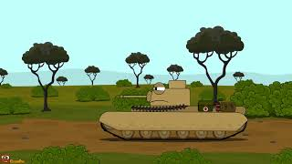 Top 10 of the first series Cartoons about tanks (Part 2)