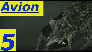 Shadow Of The Colossus Parte 5: BOSS AVION ! (HD Ita, PS4, No Commentary)