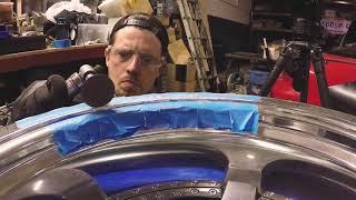 Easy DIY Curb Rashed Wheel Repair!
