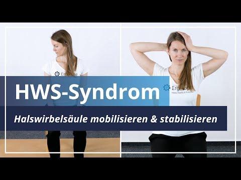 HWS-Syndrom: Mobilisiere und stabilisiere Deine Halswirbelsäule