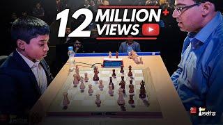 Praggnanandhaa vs Vishy Anand | Tata Steel Chess India Blitz 2018