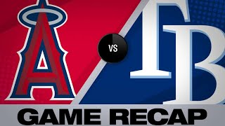 Fletcher, Bour, Smith homer in 5-3 win   Angels-Rays Game Highlights 6/5/19