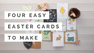 Four Easy Easter Cards To Make | Hobbycraft