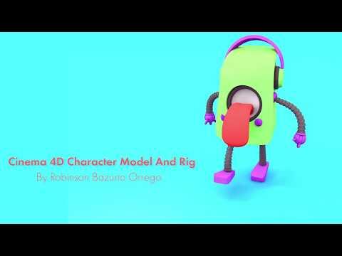 C4D character rigging: LittleAlien - смотреть онлайн на Hah Life