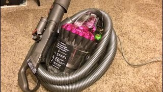 Dyson DC22 Motorhead Vacuum Unboxing - Test and Impressions