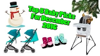 Top 5 Baby Gear in December 2016