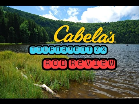 Cabelas tournament ZX baitcasting rod review