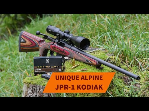 Unique Alpine: Test & video: Unique Alpine JPR-1 Kodiak in .243 Winchester - The hunting precision repeater