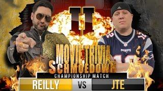 Movie Trivia Schmoedown - Mark Reilly Vs JTE (CHAMPIONSHIP MATCH)