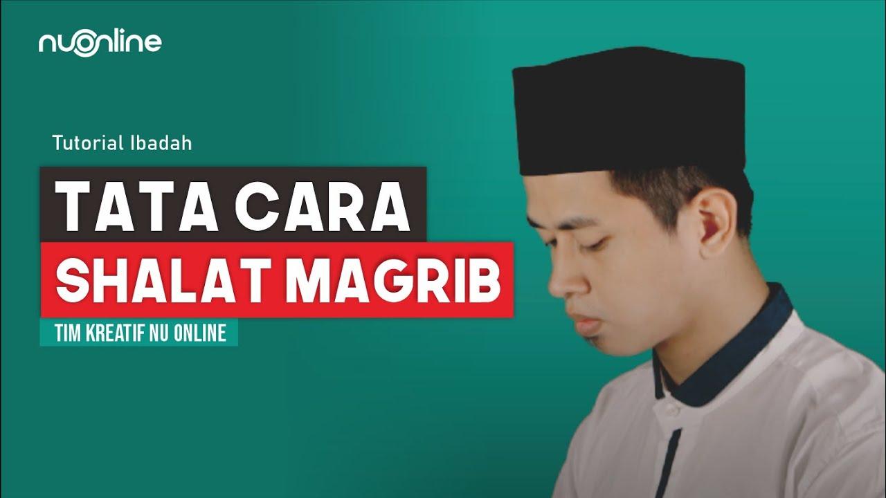 Tata Cara Shalat Maghrib