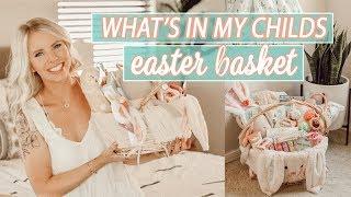 WHAT I GOT MY CHILD FOR EASTER 2019 / HUGE Easter Basket Gift Ideas!