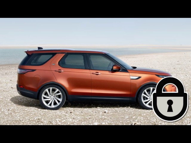 All-New Land Rover Discovery 17MY - Activity Key