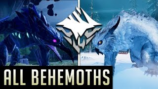 Dauntless | All Behemoths in Open Beta (Spoilers)