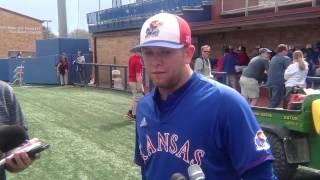 KU Baseball Postgame vs. Oklahoma State 4-7