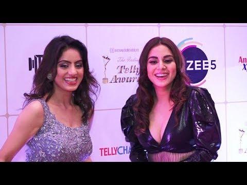 UNCUT: Shraddha Arya, Deepika Singh and others at Indian Telly Awards 2019