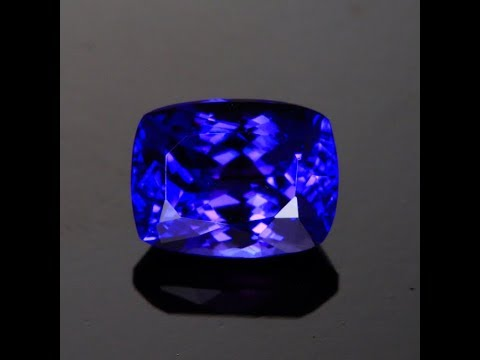 Blue Violet Exceptional Tanzanite 2.13 Carats