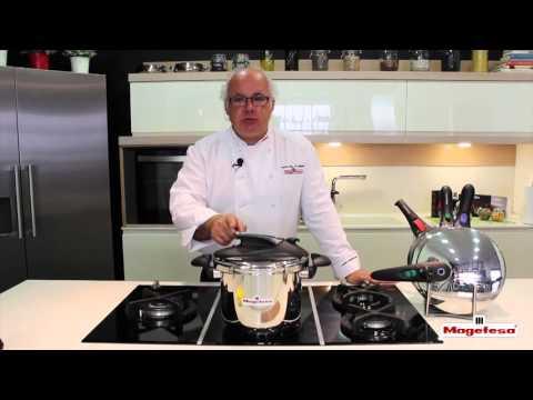 Usos de las ollas a presión súper rápidas - Magefesa