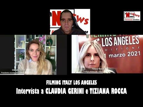 Intervista a CLAUDIA GERINI e TIZIANA ROCCA. Filming Italy Los Angeles
