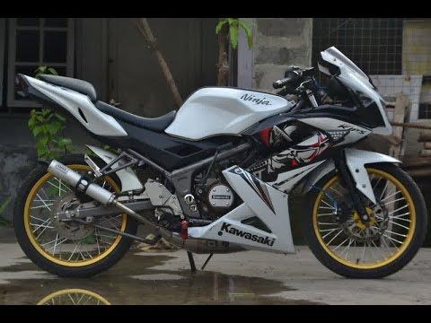 Video Motor Trend Modifikasi | Video Modifikasi Motor Kawasaki New Ninja RR 150 Velg Jari-jari Terbaru 2