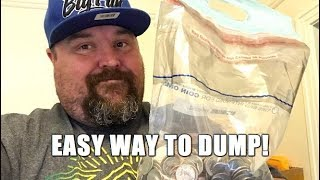 Easy Way To Dump Coins At The Bank Without Rolling Them! Coin Roll Hunting Tips!
