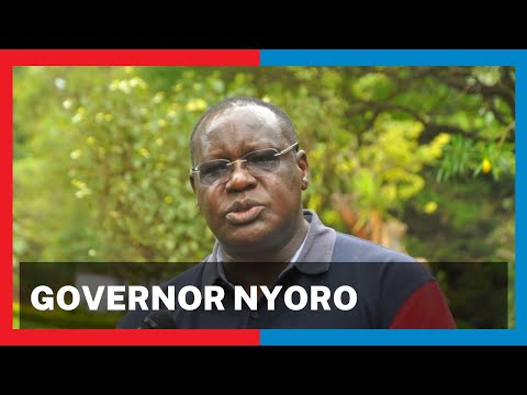 Focus on Kiambu Governor James Nyoro who is also an Agricultural expert | Person Of Interest