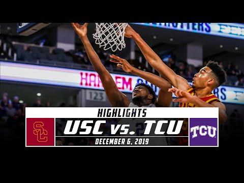USC vs. TCU Basketball Highlights (2019-20) | Stadium