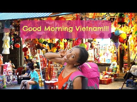 Video Vietnam! City life and night market (1 of 2) ::TRAVELING ASIA::