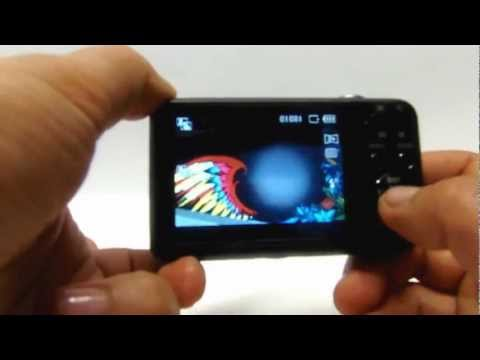 camara digital samsung pl120, con doble pantalla