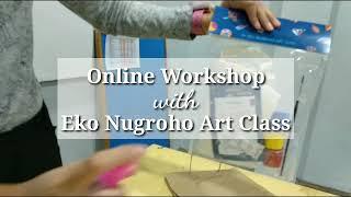 Online Workshop bersama Eko Nugroho Art Class