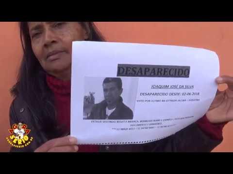 Família desesperada Joaquim Jose da Silva está Desaparecido em Juquitiba