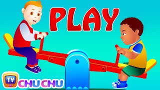 Let's Play In The Park! - Park Songs & Nursery Rhymes For Children | #readalong With ChuChu TV